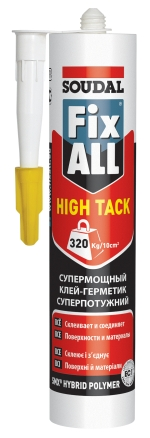 Fix All Hight Tack Гібридний клей-герметик